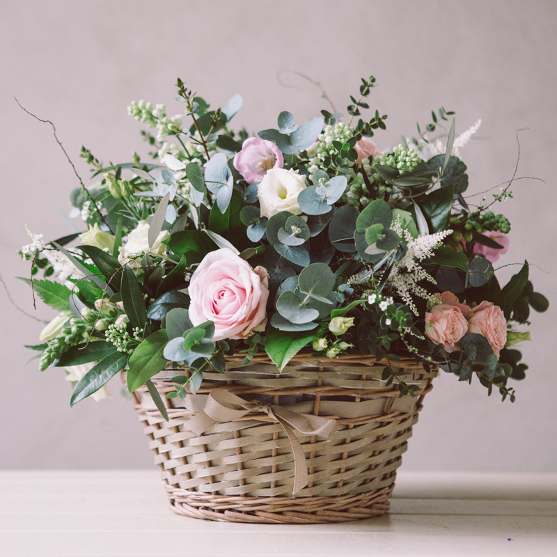 basket bouquet Broadway Florist