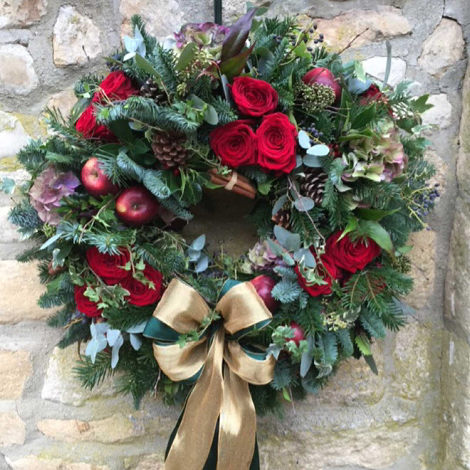 Christmas Wreath from Broadway Florist