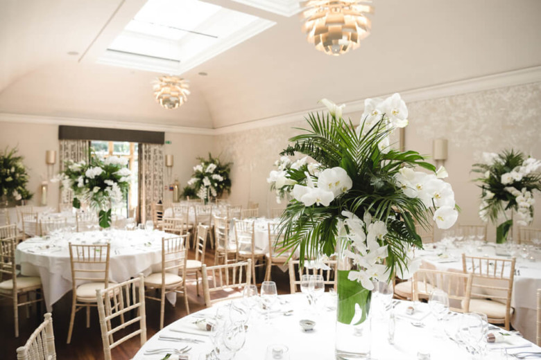 Broadway Florist Wedding Reception Flowers Gallery 1a
