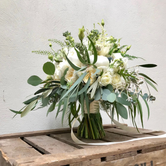 broadway florist bridal bouquet 1