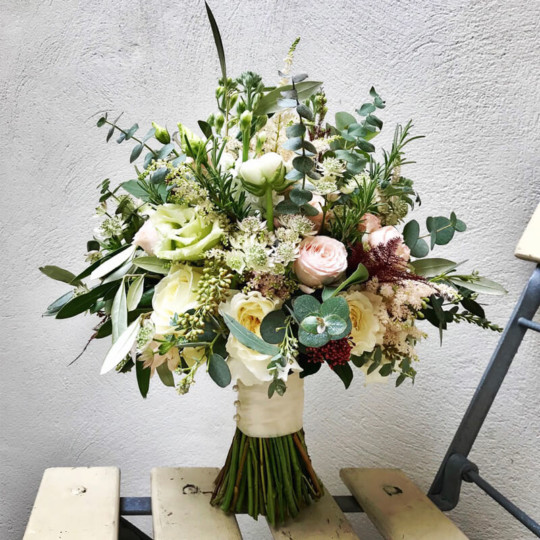 broadway florist bridal bouquet 2