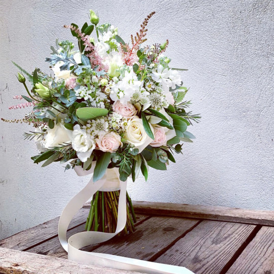 broadway florist bridal bouquet 4