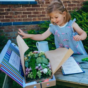 Blooms in a Box Junior children's letterbox flower nature activity