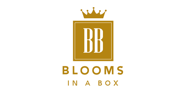 Blooms in a Box Letterbox Flowers logo