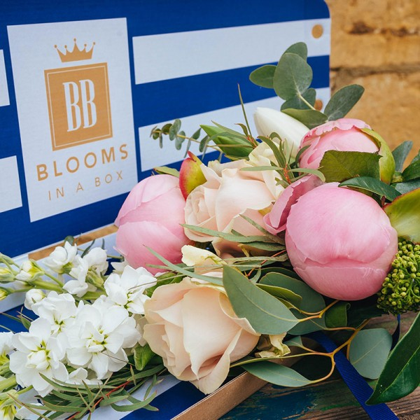Flower delivery at home order now for nationwide delivery with letterbox flowers Blooms in a Box
